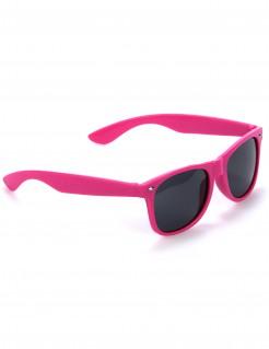 Kultbrille Blues-Brille pink-schwarz