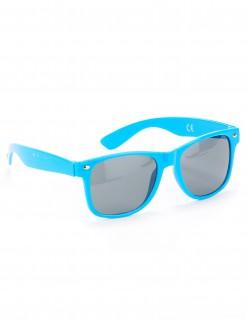 Brille mit getönten Gläsern blau