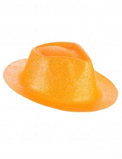 Western Glitzer Hut für Erwachsene gelb