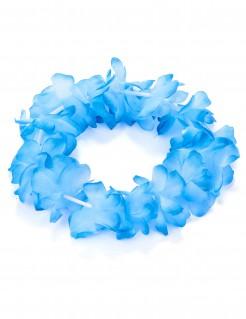 Hawaii Blütenarmband blau