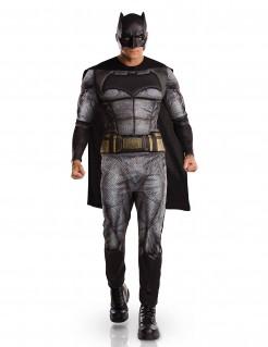 DC Comics Batman Dawn of Justice Kostüm Deluxe Lizenzware grau-schwarz