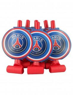 Offizielles Paris Saint-Germain™-Trötenset 6 Stück blau-rot-weiss