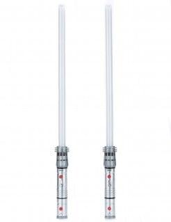 Lichtschwerter Set für Kinder grau-rot