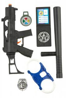 Polizei Accessoire-Set für Kinder bunt
