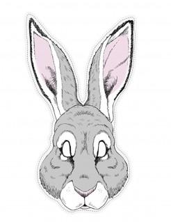 Pappmaske Kaninchen