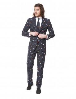Opposuits Pac Man Anzug Lizenzartikel schwarz-bunt