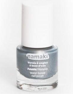 Nagellack Namaki Cosmetics grau metallic 7,5 ml