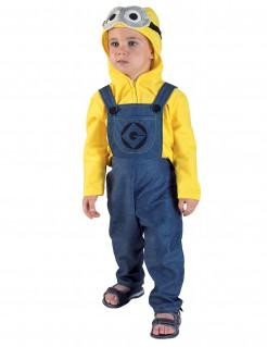 Kostüm gelber Gehilfe für Kinder blau-gelb