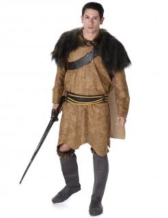 Wikinger-Outfit für Herren Bastard-Sohn braun