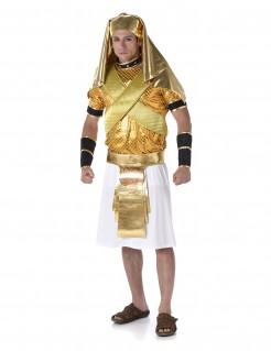Pharao Antike Kostüm ägypter gold-weiss-schwarz
