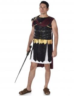 Römer-Herrenkostüm Gladiator schwarz