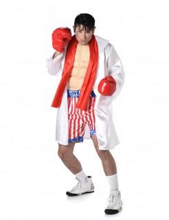 Deluxe Boxchampion-Herrenkostüm Boxer bunt