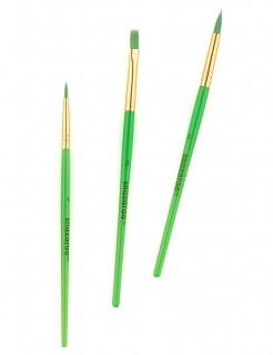Snazaroo Schmink-Pinsel 3er-Set grün