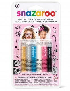 Schminkstifte Lizenzware Snazaroo für Kinder 6 Stück bunt 47,4g