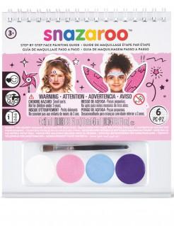 Lizenzartikel Snazaroo kleines Schminkset für Mädchen mit Pinsel bunt