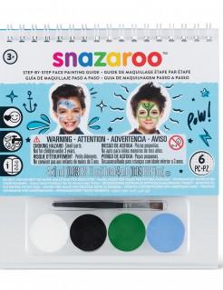 Lizenzartikel Snazaroo kleines Schminkset für Jungen mit Pinsel bunt