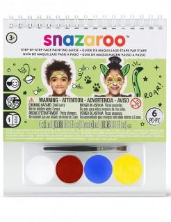 Schminkset Mini Lizenzartikel Snazaroo 4-farbig bunt
