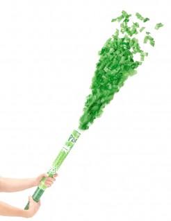 Lange Fetzen Konfettikanone Party Bombe grün