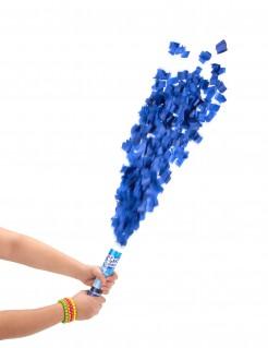 Kurze Fetzen Konfettikanone Party Bombe blau
