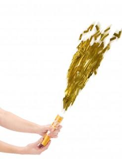 Kurze Fetzen Konfettikanone Party Bombe gold