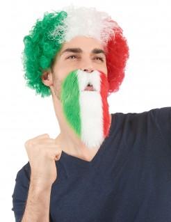 Fußball Fanbart Italien grün-weiss-rot
