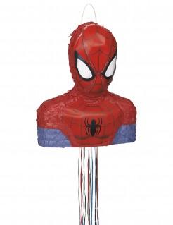 Partyspiel Pinata Lizenzware Spider Man rot-blau