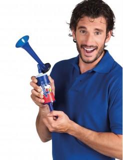 Fußball Fan Nebelhorn Frankreich blau-weiss-rot