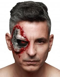 Terminator™ Genisys Halloween-Makeup silber-rot