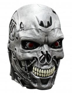 Terminator Genisys Maske Lizenzware Cyborg silber