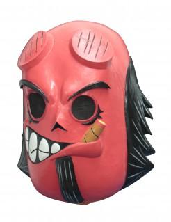 Tag der Toten Teufeldämon-Maske Calaveritas rot