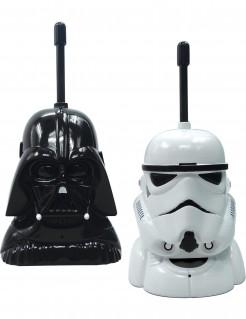 Star Wars™-Walkie-Talkies Spielzeugtelefon-Set 2-teilig schwarz-weiss 17cm