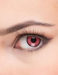 Fantasy-Kontaktlinsen rosa-schwarz