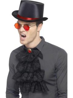 Eleganter Vampir Set 3-teilig schwarz-rot