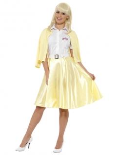 Sandy™-Kostüm für Damen Grease™ gelb-weiss