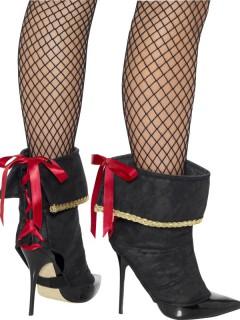 Piratinnen-Stiefelüberzieher