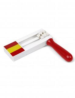 Spanien-Schnarre rot-gelb 17x15cm