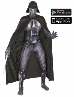 Star Wars Darth Vader Digital Morphsuit Lizenzware schwarz