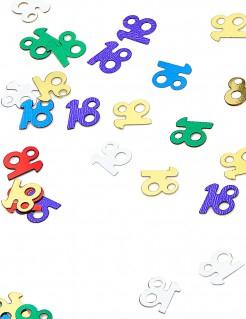 Geburtstagsparty-Konfetti 18 Jahre 14g