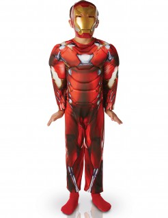 Civil War Iron Man Deluxe Kinderkostüm Lizenzware rot-gold