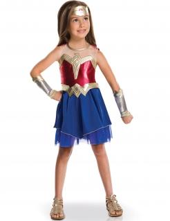 Kostüm für Mädchen Wonder Woman™ Superheldin rot-blau