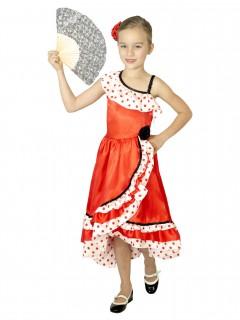 Spanisches Tänzerinnenkostüm für Kinder