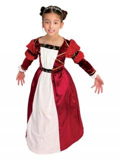 Mittelalterliche Gräfin Mädchenkostüm