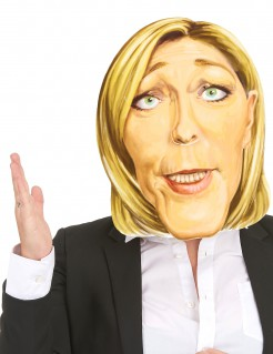 Marine Le Pen Promi-Maske