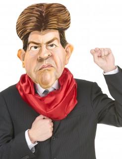 Jean-Luc Mélenchon Politiker-Maske hautfarben-braun