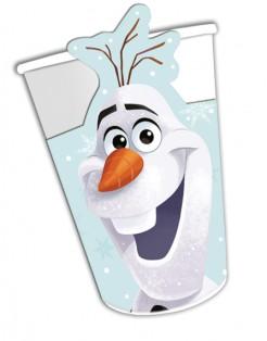 Disney™ Frozen - Die Eiskönigin™ Olaf Trinkbecher Lizenzware 8 Stück bunt 200ml