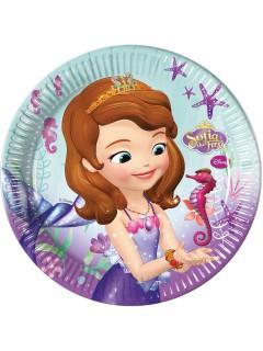 Sofia die Erste™-Partyteller 8 Stück 23cm