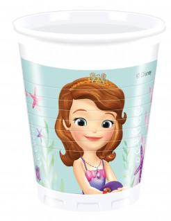 Disney Sofia die Erste™ Partybecher Kindergeburtstag Lizenzware 8 Stück bunt 200ml