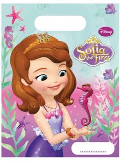 Geschenktüten Sofia die Erste™ Disney-Lizenzartikel 6 Stück bunt 16,5x23cm