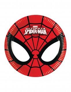 Ultimate Spiderman™-Teller 8 Stück 19,5cm