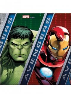 Avengers™ Party-Servietten Lizenzware bunt 33x33cm